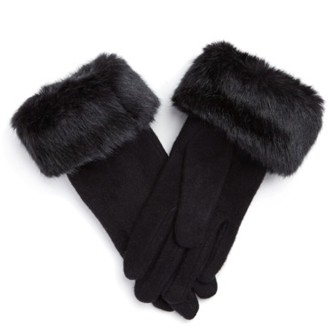 €8 Fur Cuffed Glove