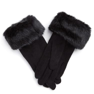 €8 Fur Cuffed Glove