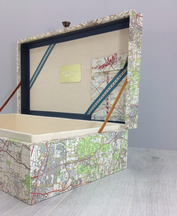 bespoke keepsake boxes by six0six design handmade in Ireland