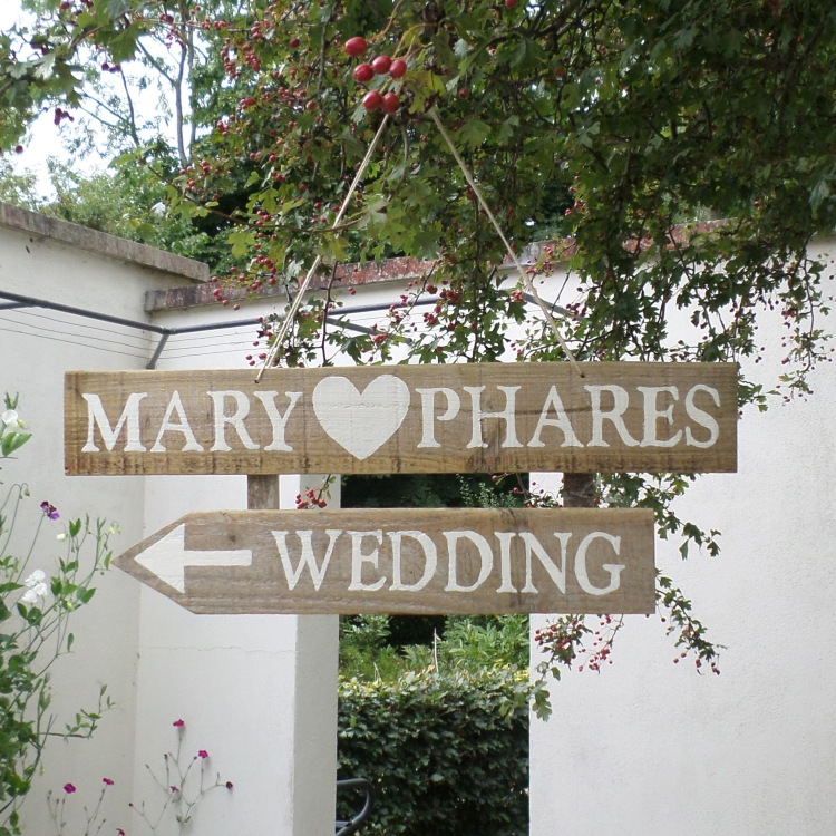custom wedding signs with your names directions to the chursh dancing on your wedding day by six0six design (2).jpg